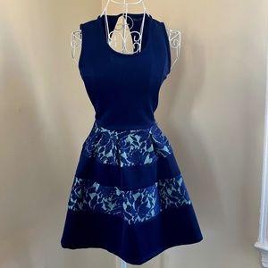 Blue/Turquoise Mini dress